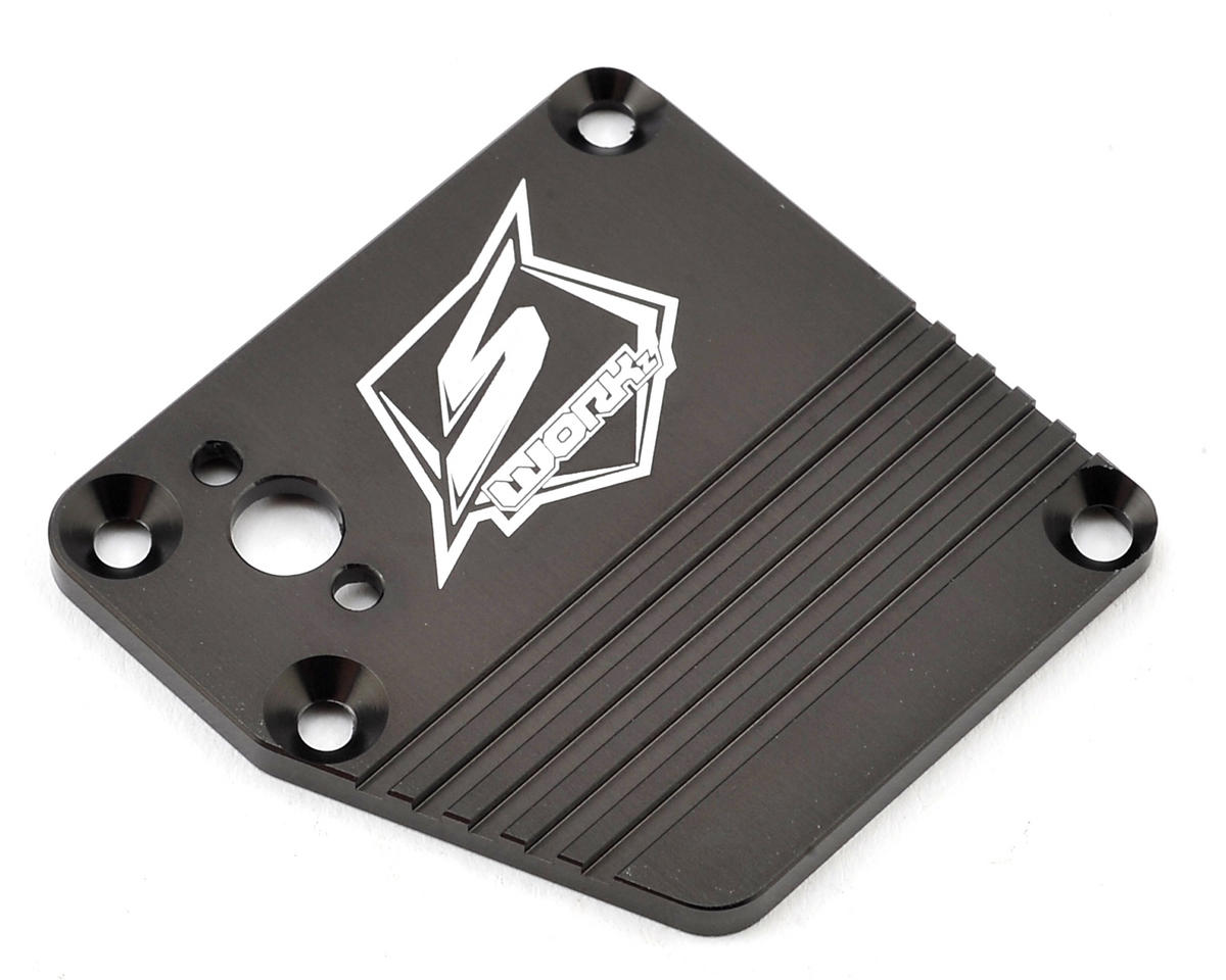 SWorkz S350 Series PSP Aluminum Receiver Box Cover (Gun Metal) (LE)