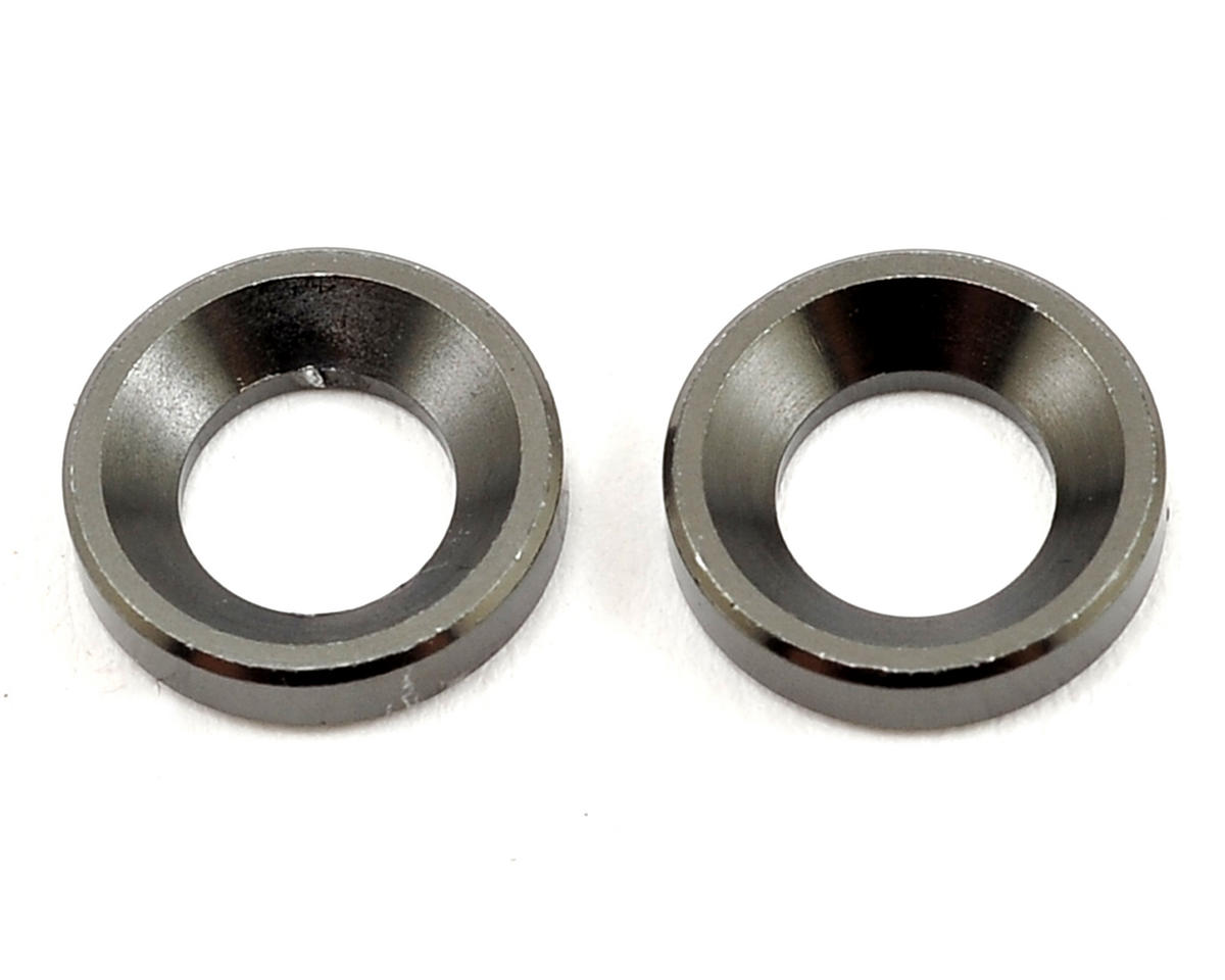 SWorkz S104 2mm Aluminum Pivot Ball Knuckle Washer (2)