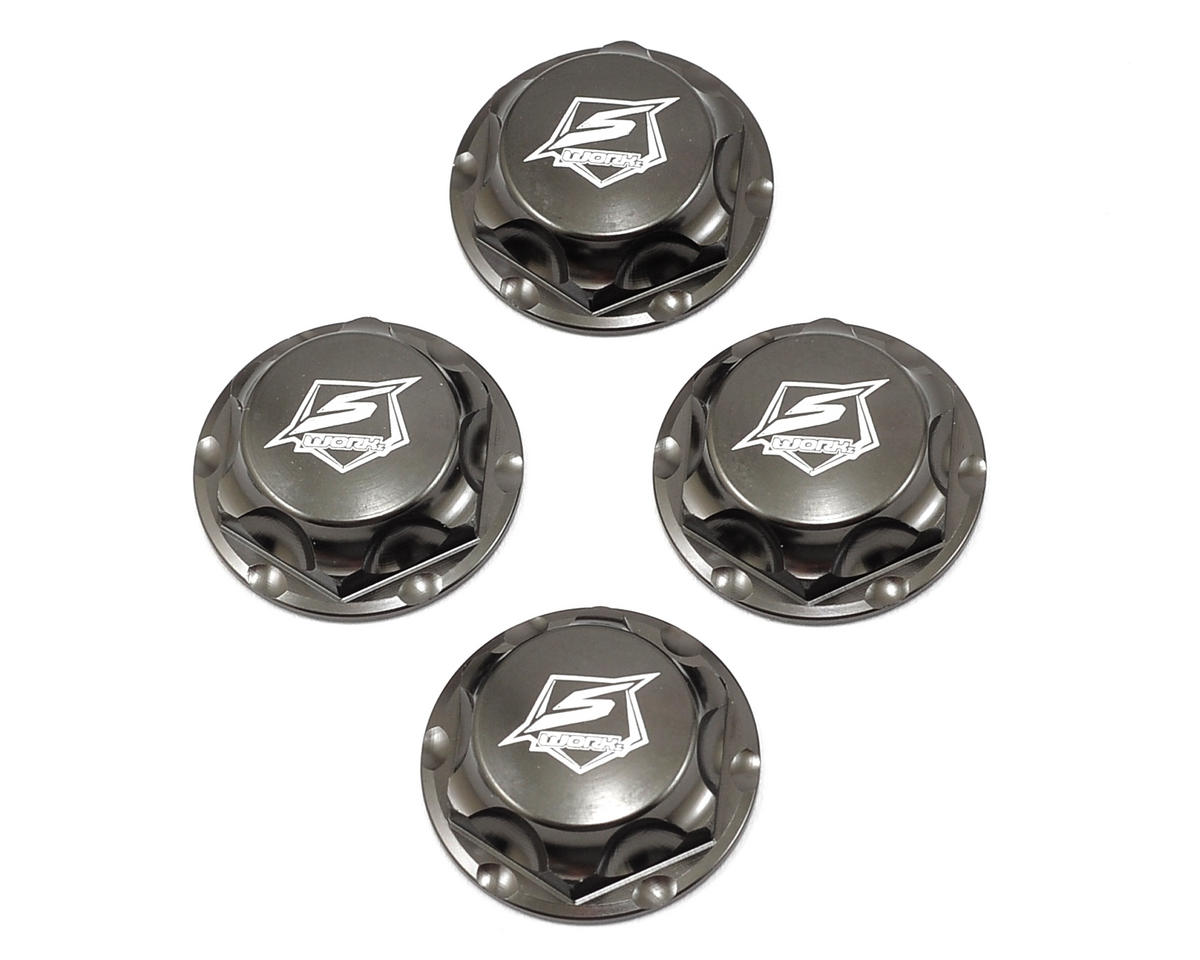 SWorkz S350 Series Pro Wheel Nut (Gunmetal) (4) (S-Workz Racing BX1e)