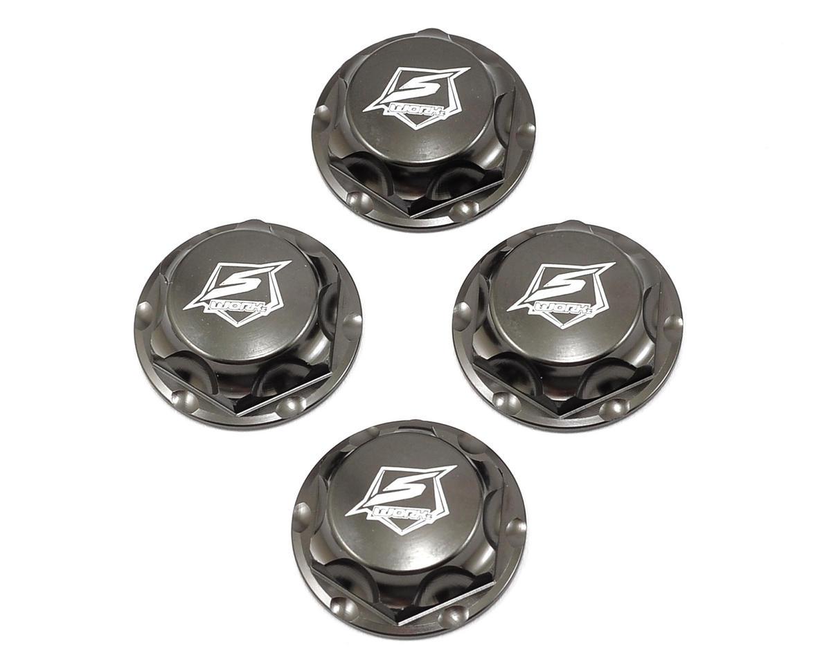 SWorkz S350 Series Pro Wheel Nut (Gunmetal) (4)