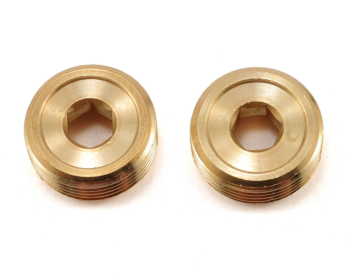 SWorkz S350 Brass Pivot Ball Balance Nut (5.5g) (2) (S-Workz S35-3E)