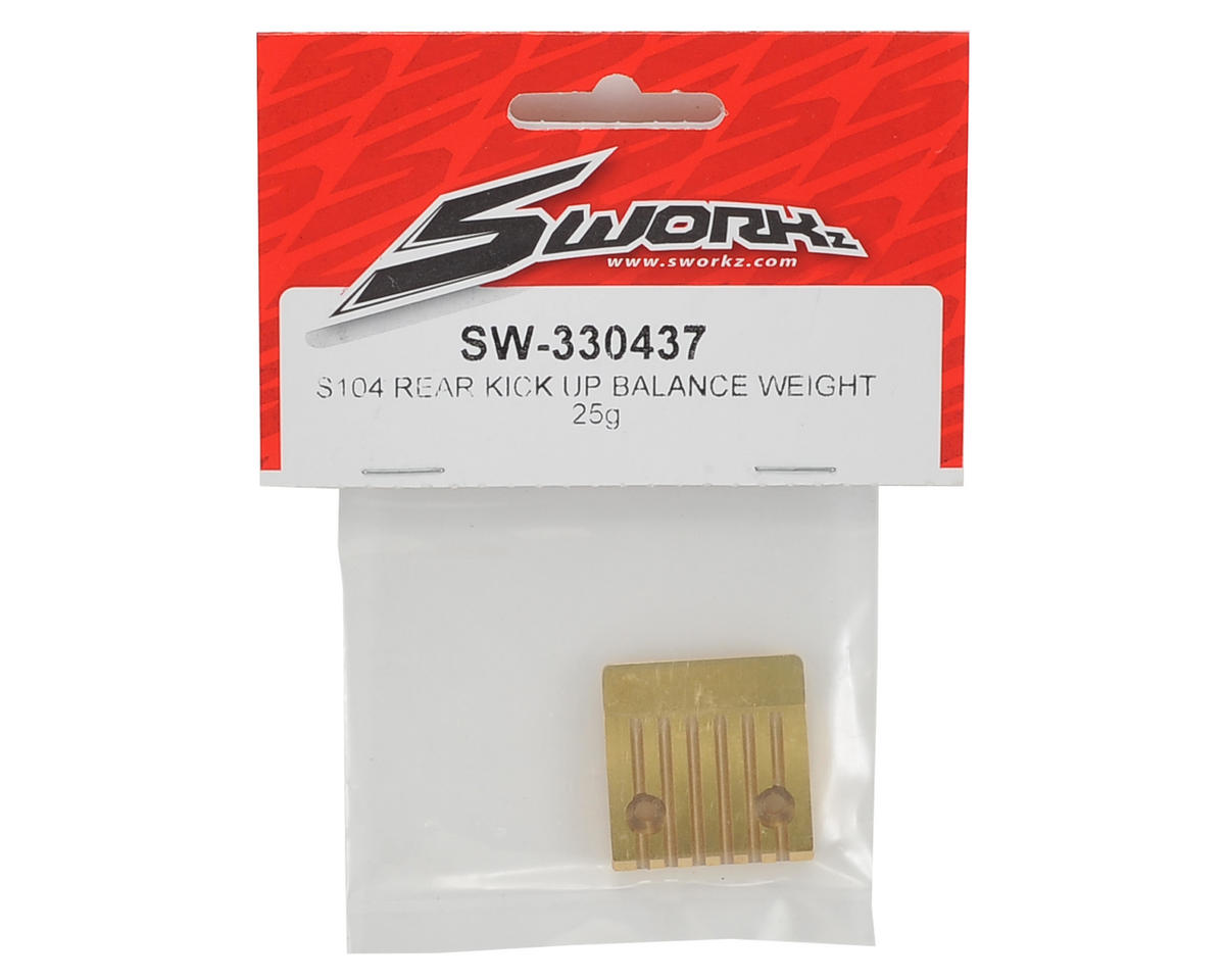 SWorkz S104 Rear Kick Up Balance Weight (25g)
