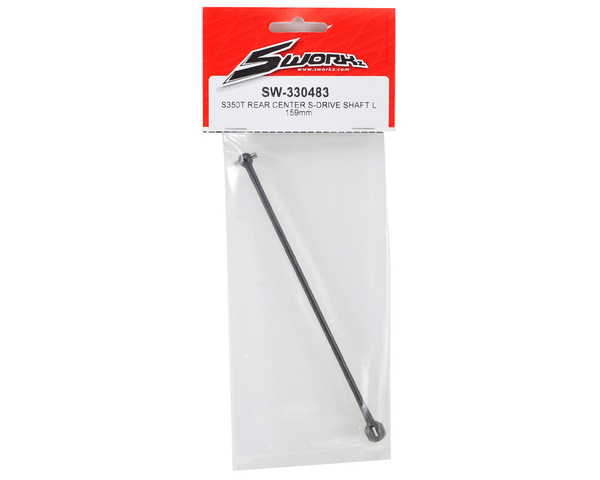 SWorkz S350T 159mm Rear-Center S-Drive Shaft