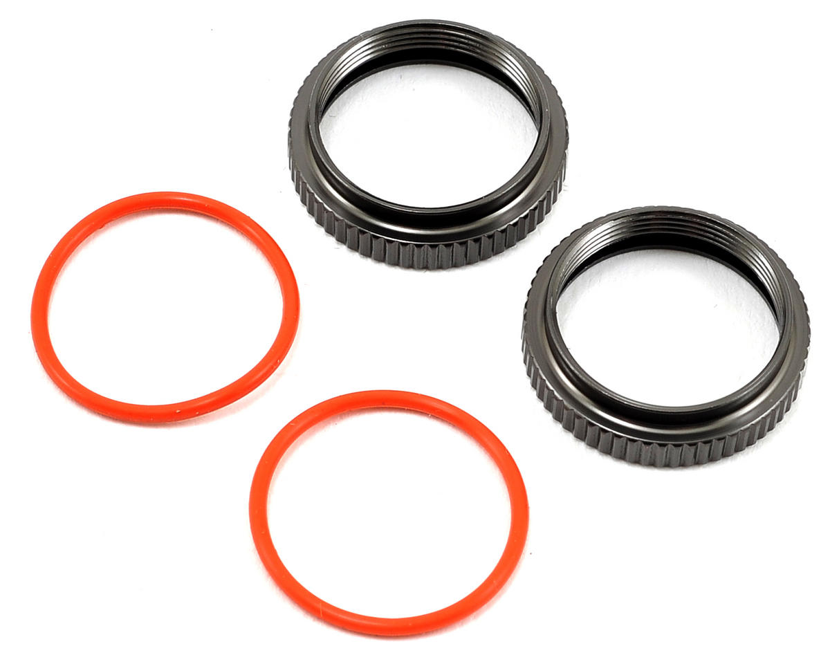 SWorkz BBS Shock Spring Adjust Nut (2) (S-Workz S350 BE1)