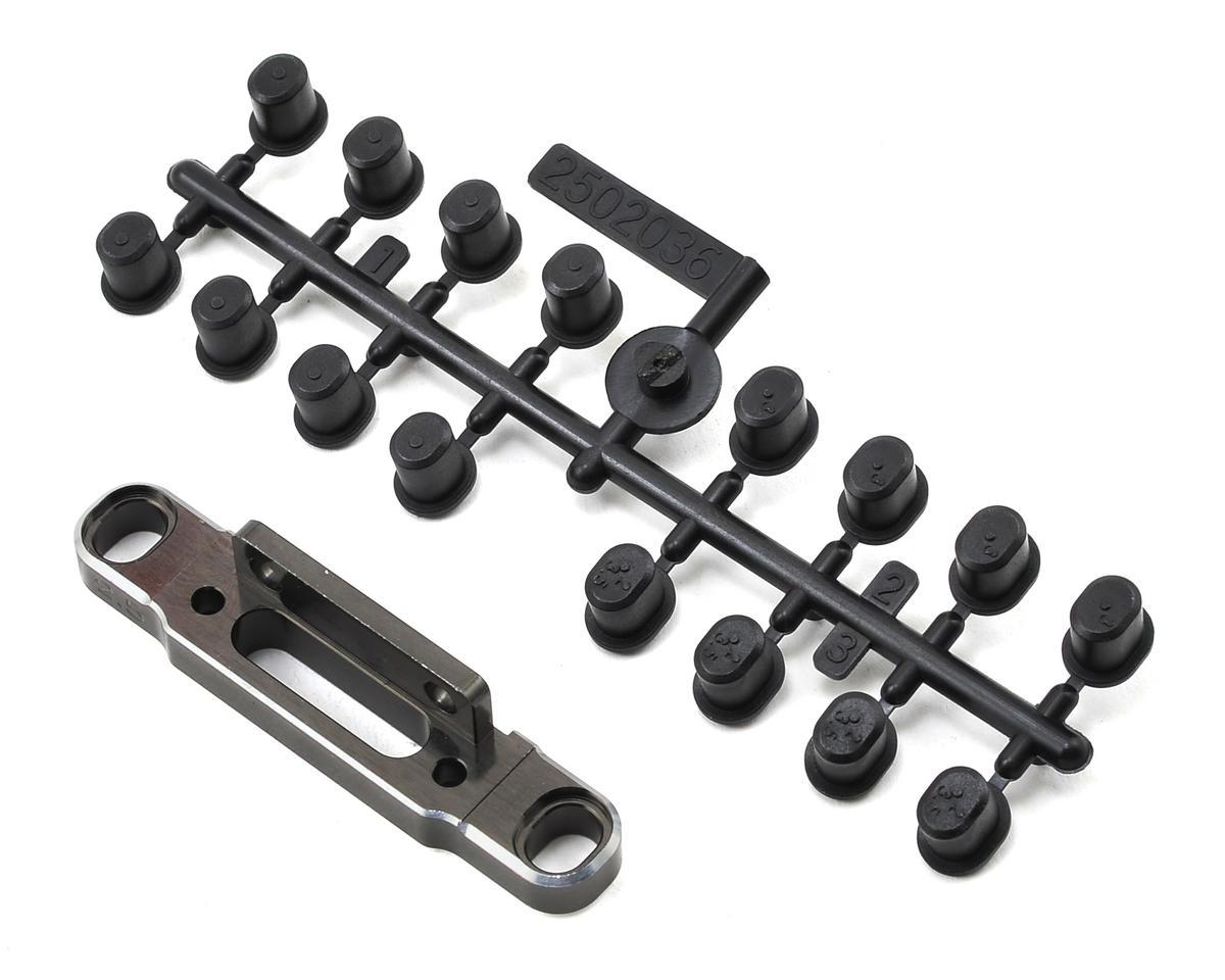 SWorkz S35 Aluminum Rear Changeable Lower Arm Holder (2.5D) (LE)