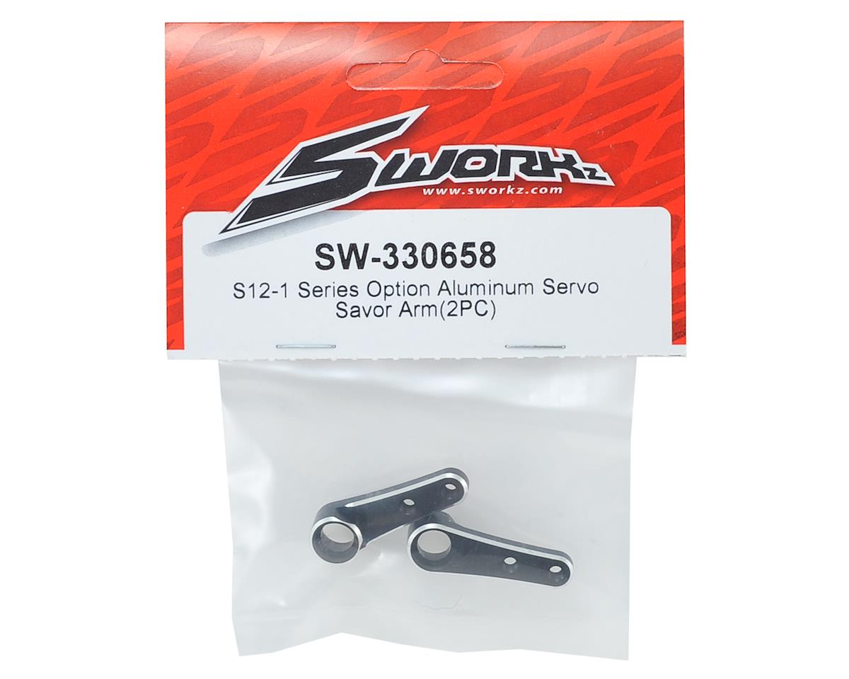 SWorkz Aluminum Sworkz S12-1 Series Servo Savor Arm (2)