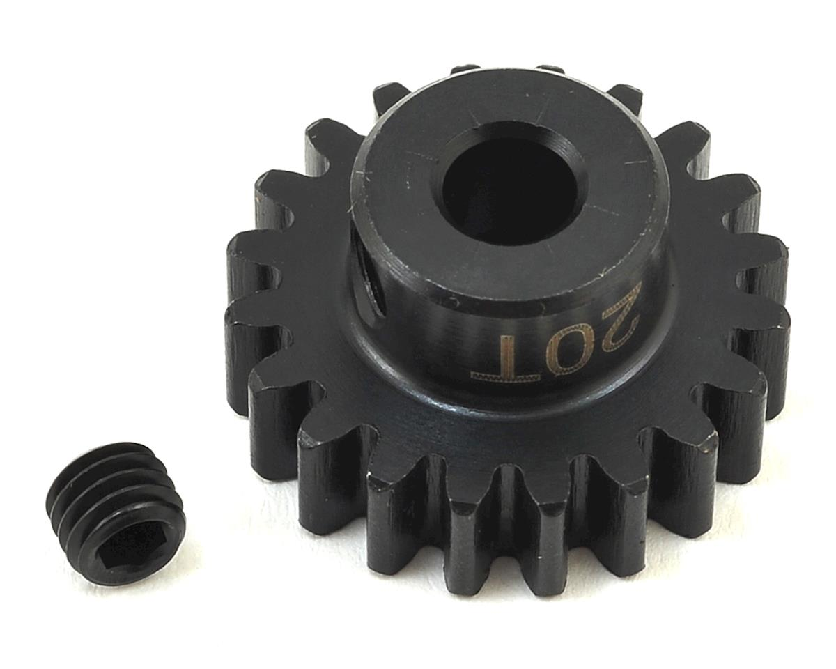 Mod1 1/8 Motor Pinion Gear (5mm Bore) (20T) by SWorkz