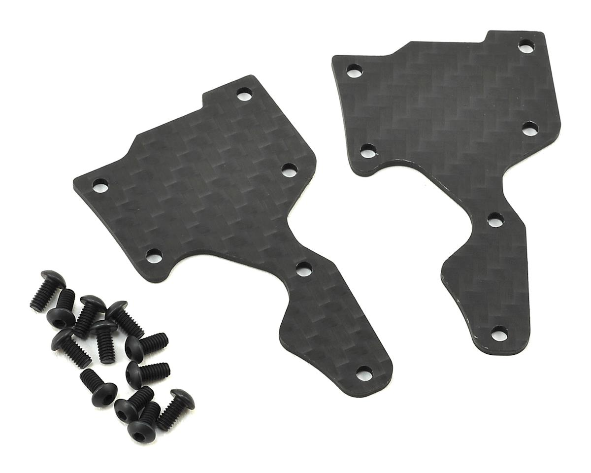 SWorkz 1.5mm Carbon S35-3 Series Pro-Composite Front Lower Arm Cover (2) (S-Workz S35-3E)