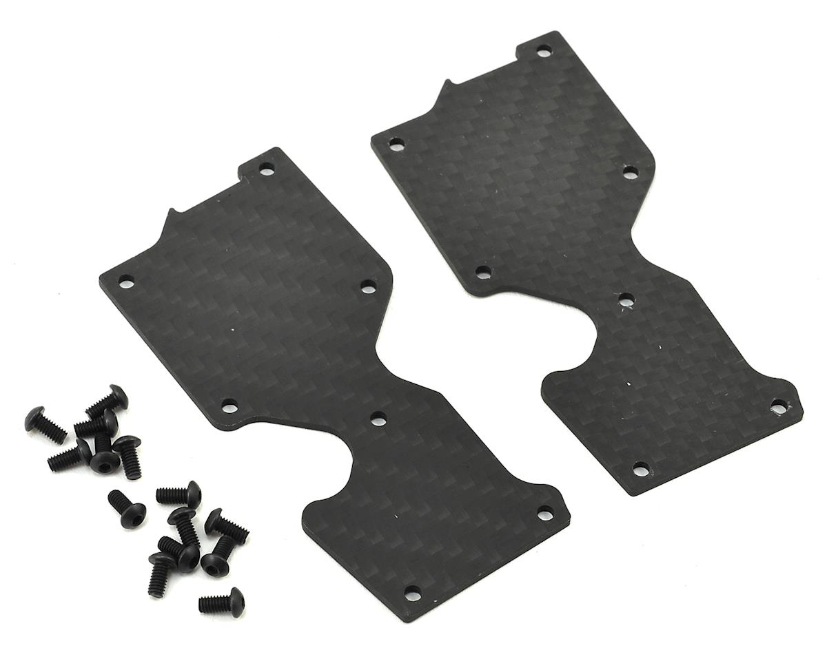 1.5mm Carbon S35-3 Series Pro-Composite Rear Lower Arm Cover (2) by SWorkz