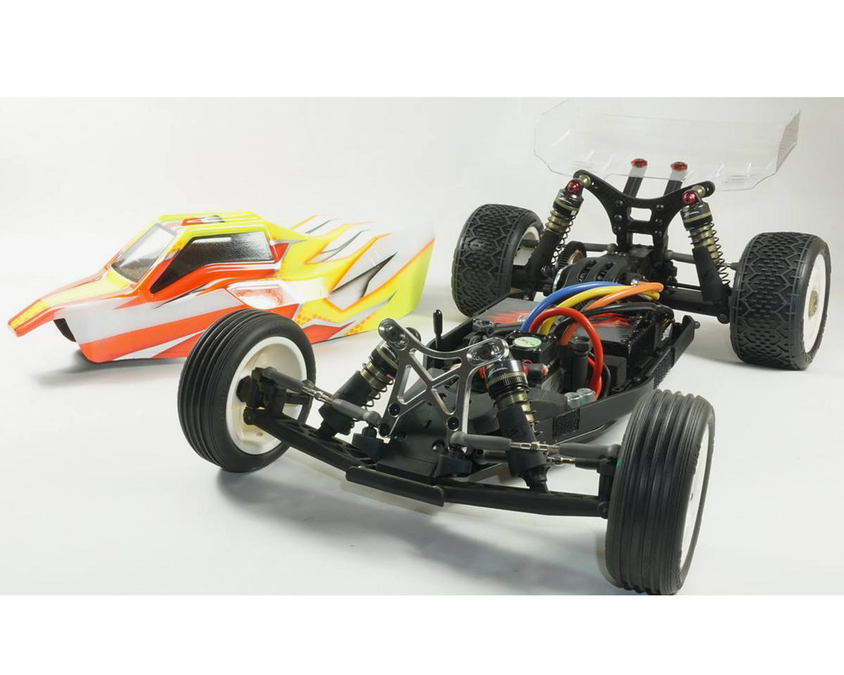 "S12-1R ""US Edition"" 1/10 2WD Mid Motor Electric Buggy Kit by SWorkz"