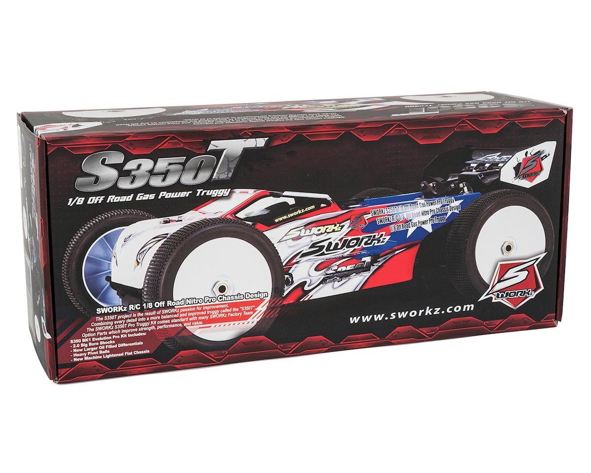 "SWorkz S350T Pro ""US Edition"" 1/8 Off-Road Nitro Truggy Kit"