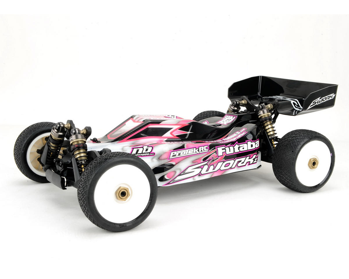 SWorkz S104 EVO 1/10 4WD Off Road Racing Buggy Pro Kit