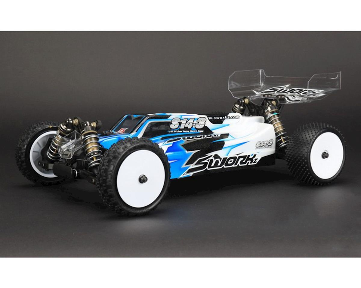 S14-3 1/10 Electric 4WD Off-Road Pro Buggy Kit