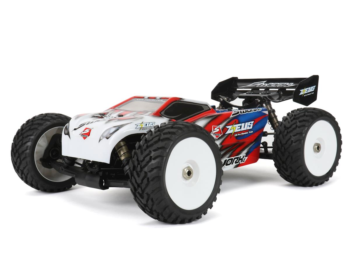 ZEUS Pro 1/8 4WD Electric Monster Truck Kit
