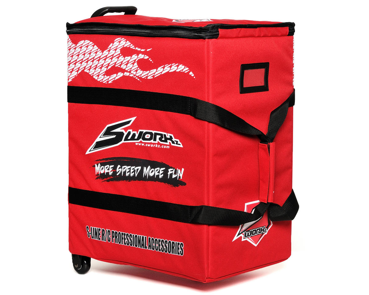 SWorkz S-Line Racing Wheeled Trolley w/Drawers