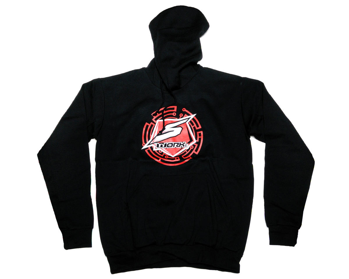 SWorkz Technology Logo Sweater (Black) (4XL)