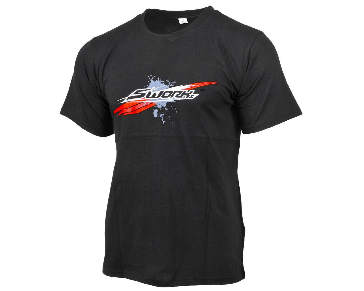 """SWorkz """"Speed"""" T-Shirt (Black) (L)"""