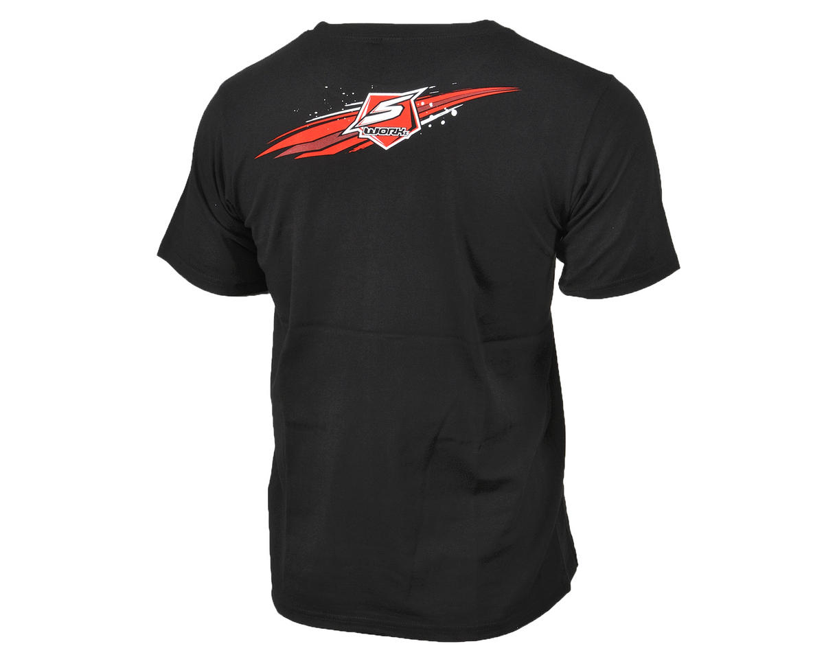 "SWorkz ""Speed"" T-Shirt (Black) (M)"