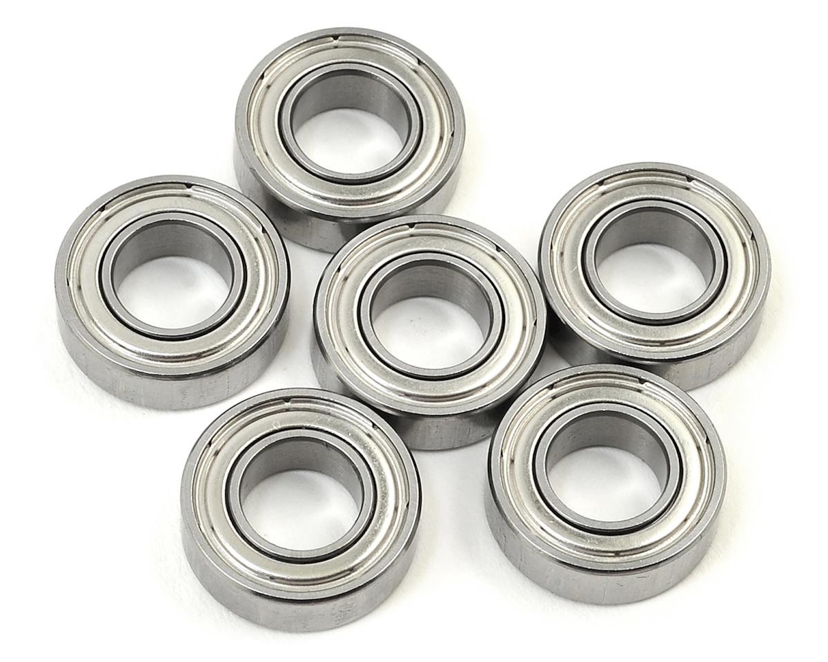 SWorkz 8x16x5mm Competition Ball Bearing (6) (Metal Case) (S-Workz S35-T)