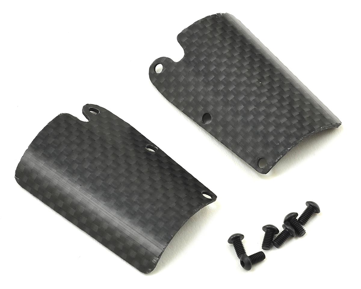 Carbon S35-3 Series Pro-Composite Front Upper Downforce Wing Set by SWorkz