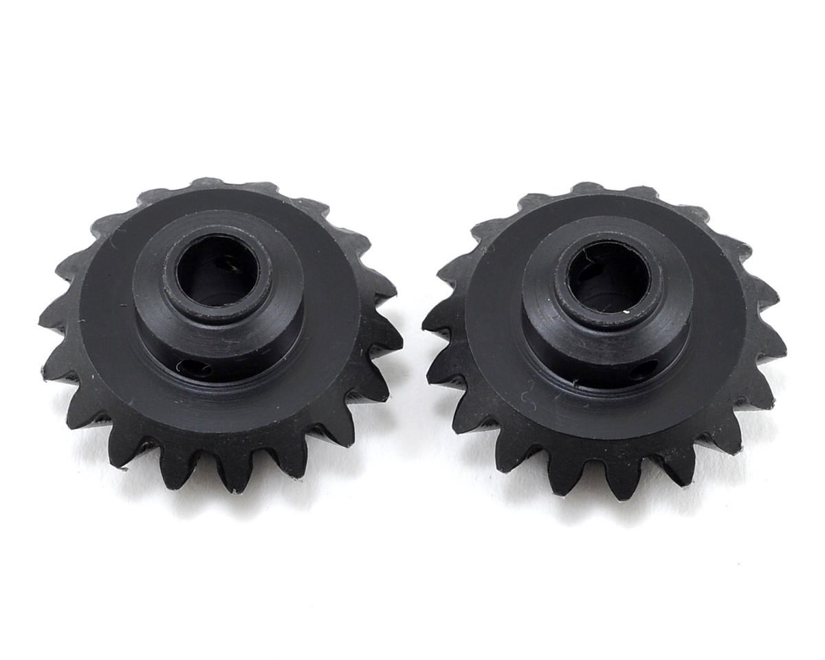 18T Front Trans Bevel Gear (2) (Torque Tube Kit) by Synergy