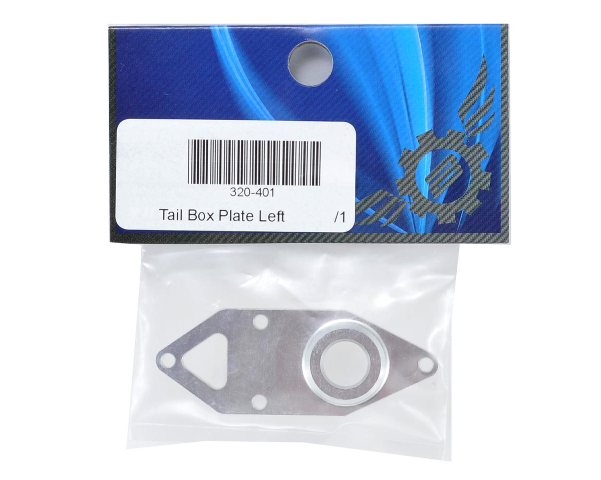 Synergy Tail Box Plate 'Left' (Torque Tube Kit)