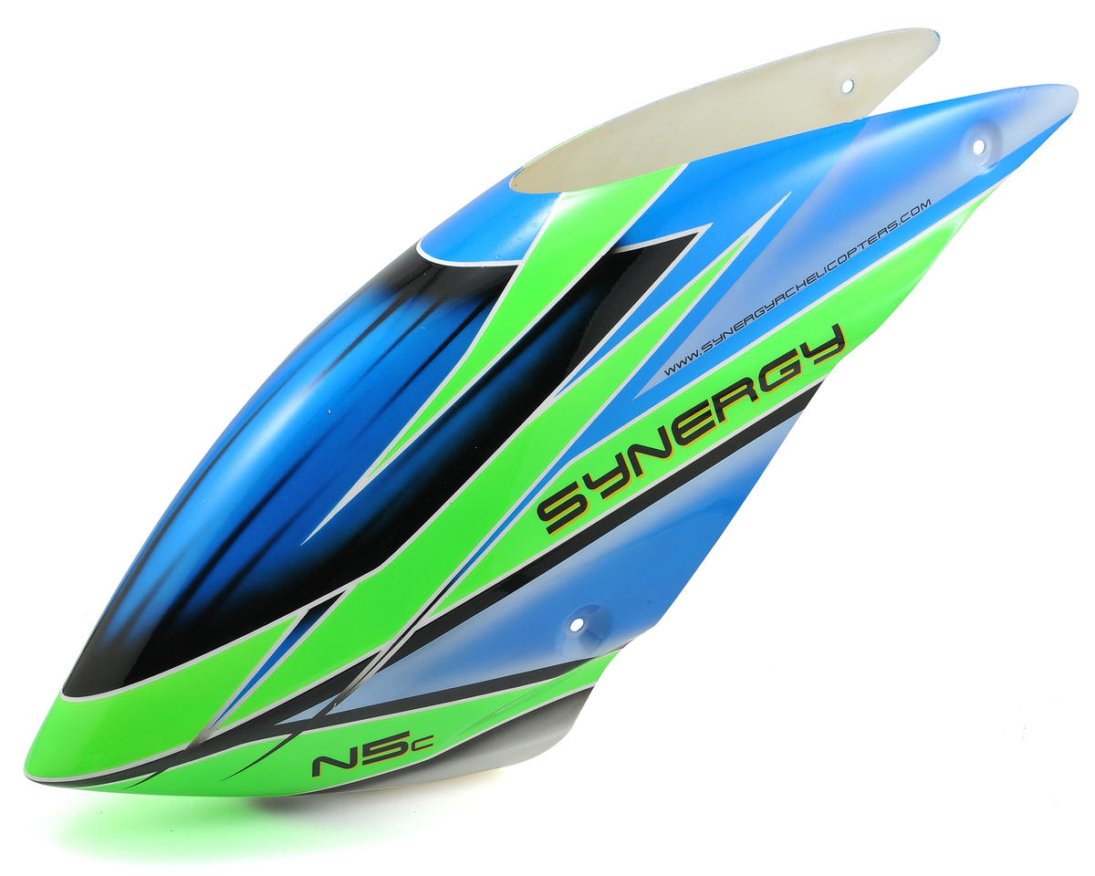 N5C Torque Tube Edition Painted Canopy (Blue/Green) by Synergy
