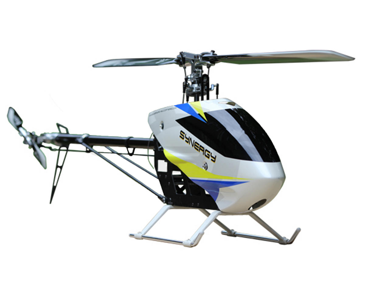 E5 Flybarless Torque Tube Electric Helicopter Kit by Synergy