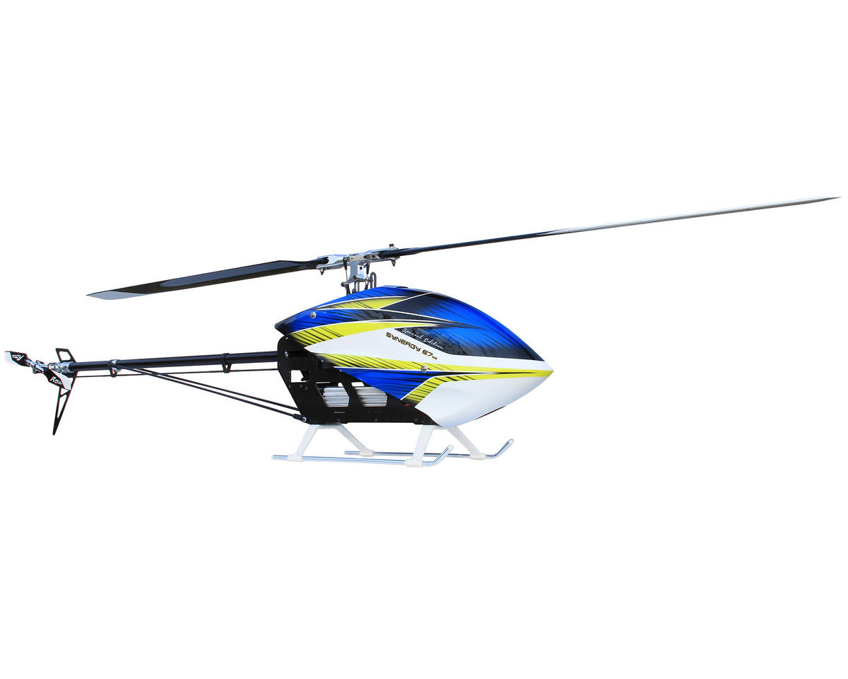 Synergy E7 Special Edition Flybarless Torque Tube Electric Helicopter Kit