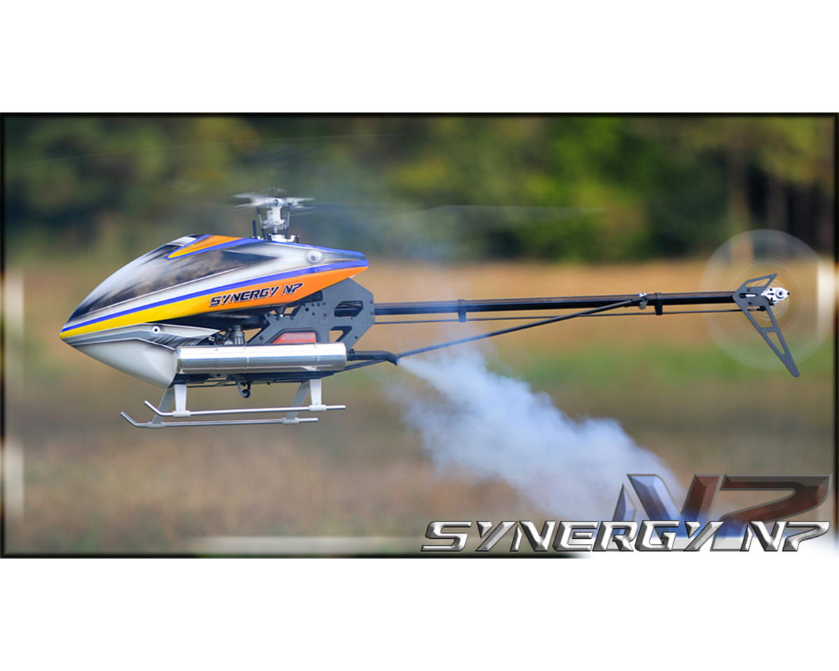 N7 Flybarless Torque Tube Nitro Helicopter Kit by Synergy