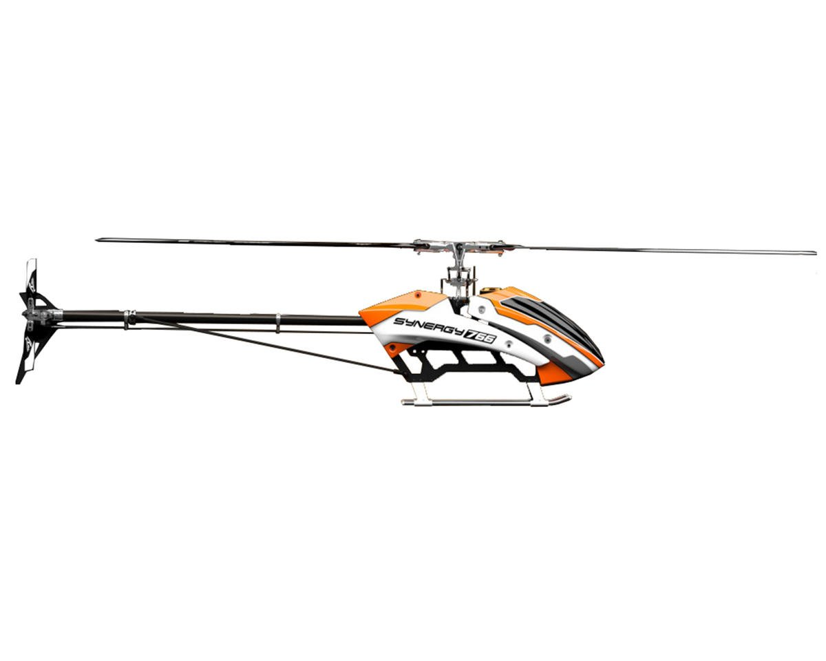 766 Flybarless Torque Tube Electric Helicopter Kit by Synergy