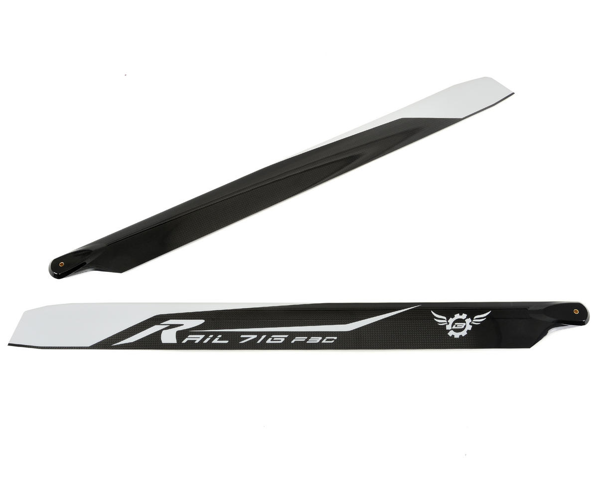 Synergy E7 Rail R-716 F3C Flybarless Main Blade Set
