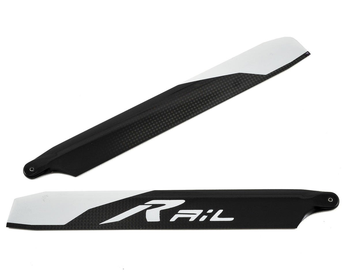 Rail R-156 Main Blade Set (Blade 180 CFX) by Synergy