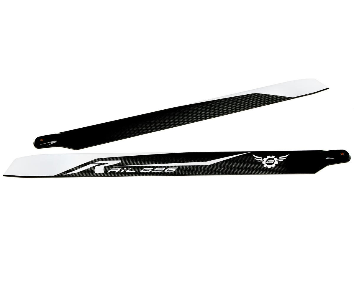 Synergy Rail R-696 Flybarless Main Blade Set (TSA Model Infusion 700N Pro)