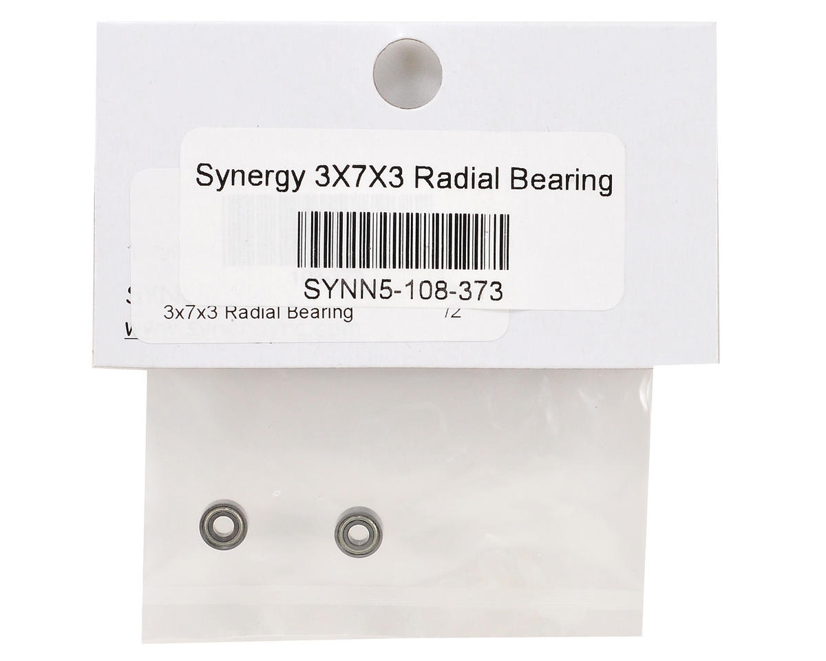 Synergy 3x7x3mm Radial Bearing Set (2)