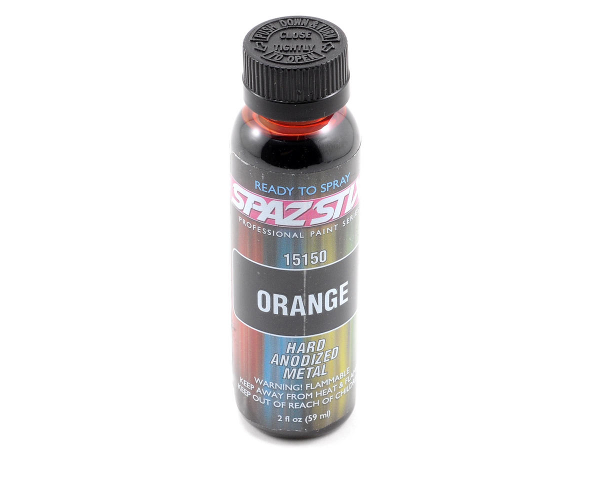 "Spaz Stix ""Orange"" Hard-Anodized Paint (2oz)"