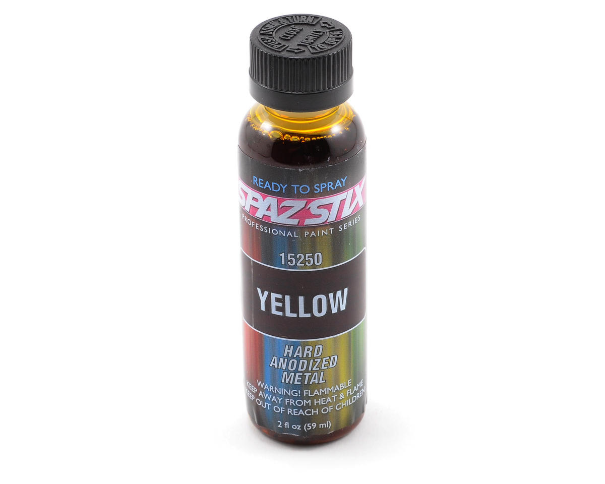 """Candy Yellow"" Hard-Anodized Paint (2oz) by Spaz Stix"