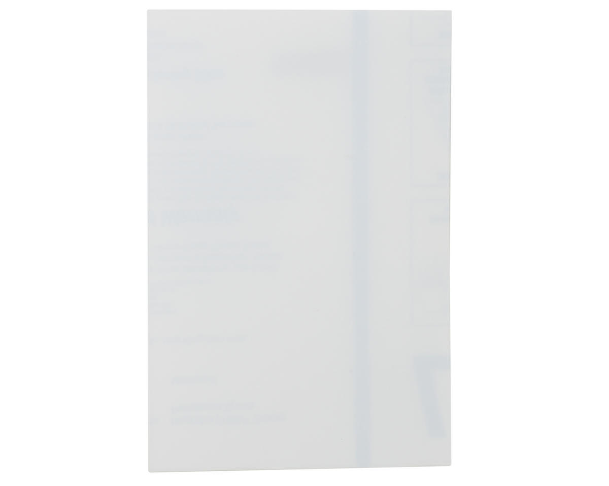 "Spaz Stix 0.030"" Clear Polycarbonate Sheet (8x12"")"