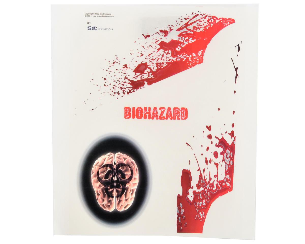 Spaz Stix Exterior Decal Sheet (Bio Hazard)