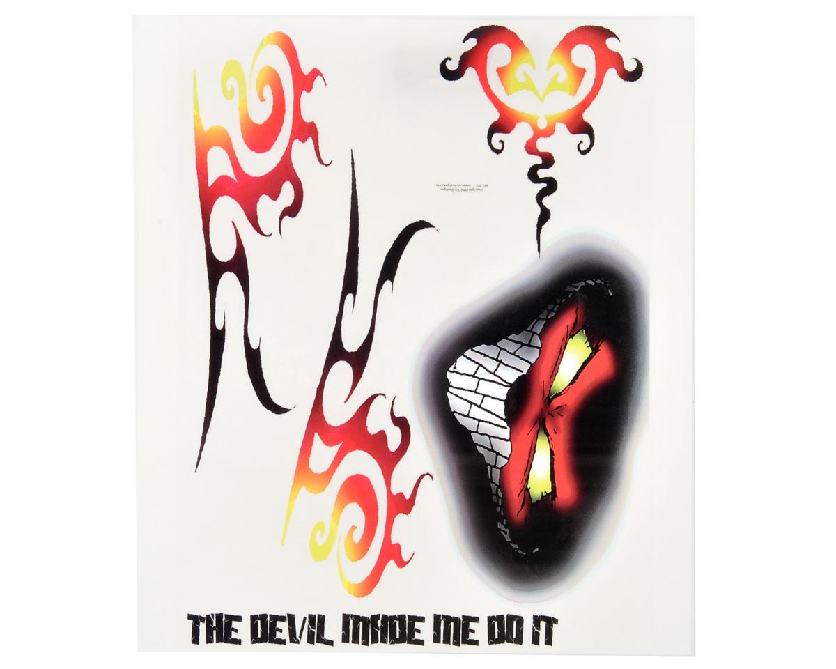 Spaz Stix Exterior Decal Sheet (The Devil Made Me)
