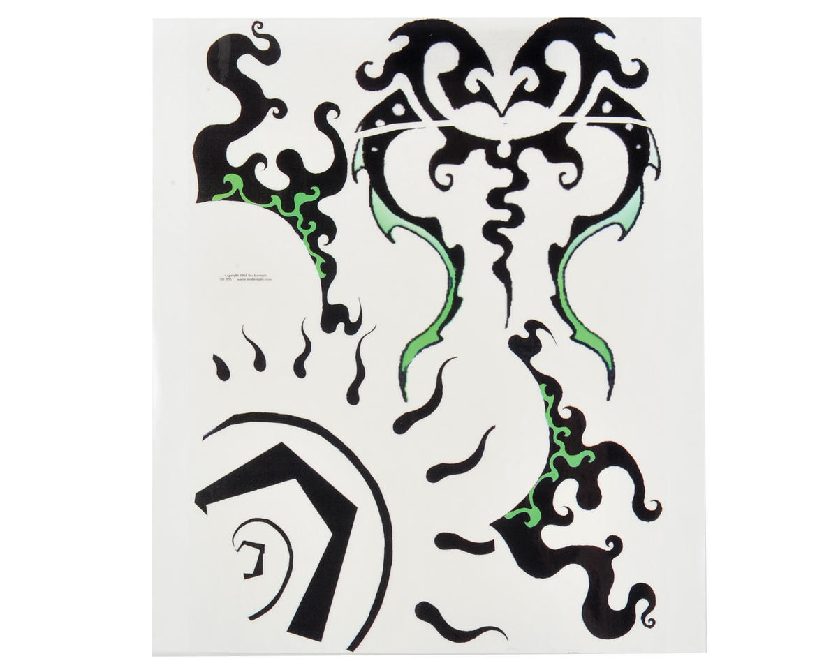 Spaz Stix Exterior Decal Sheet (Swirl)