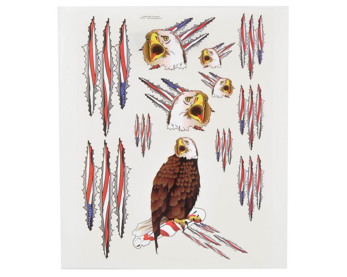 Spaz Stix Exterior Decal Sheet (Eagle)