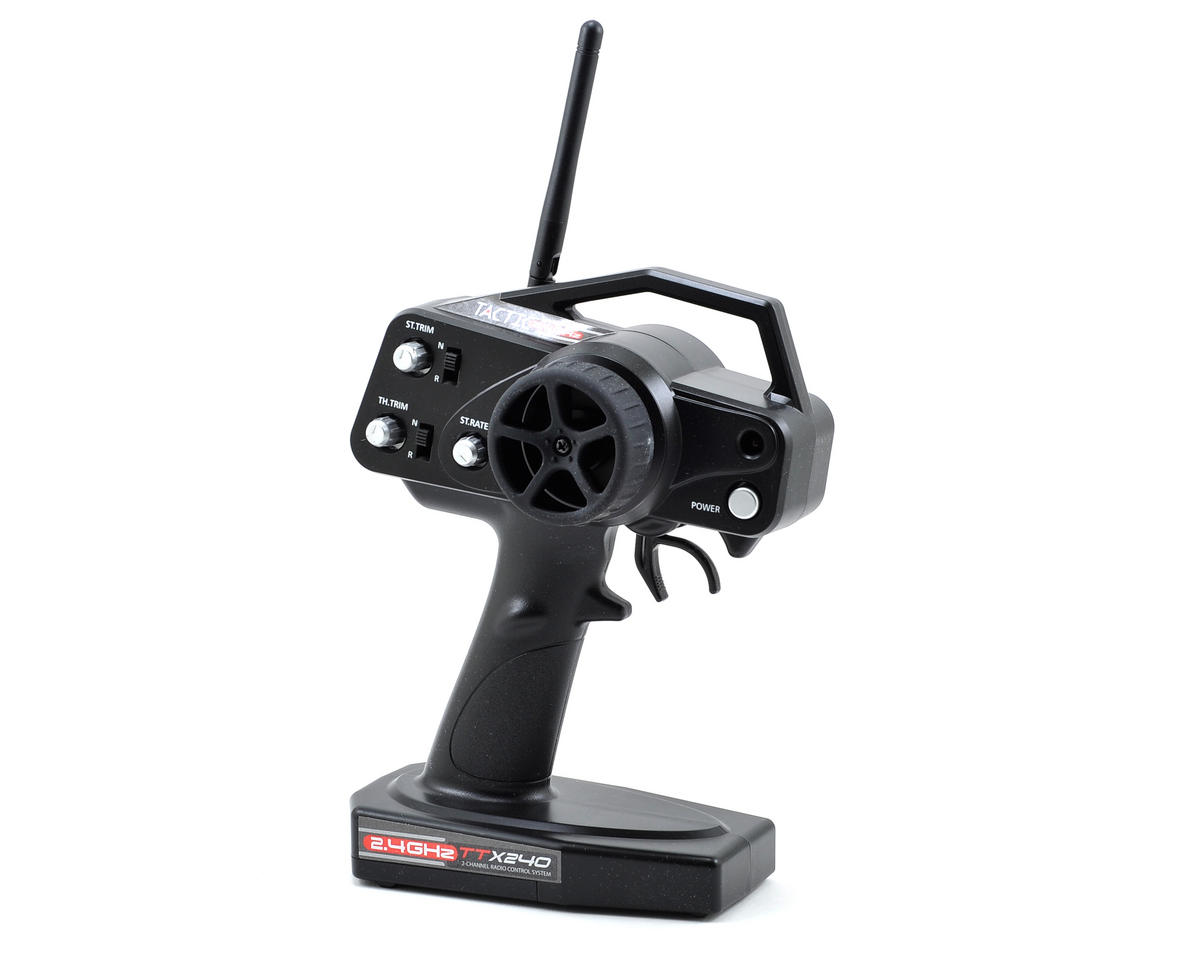 Tactic TTX240 2.4GHz 2-Channel Radio System (No Servos)