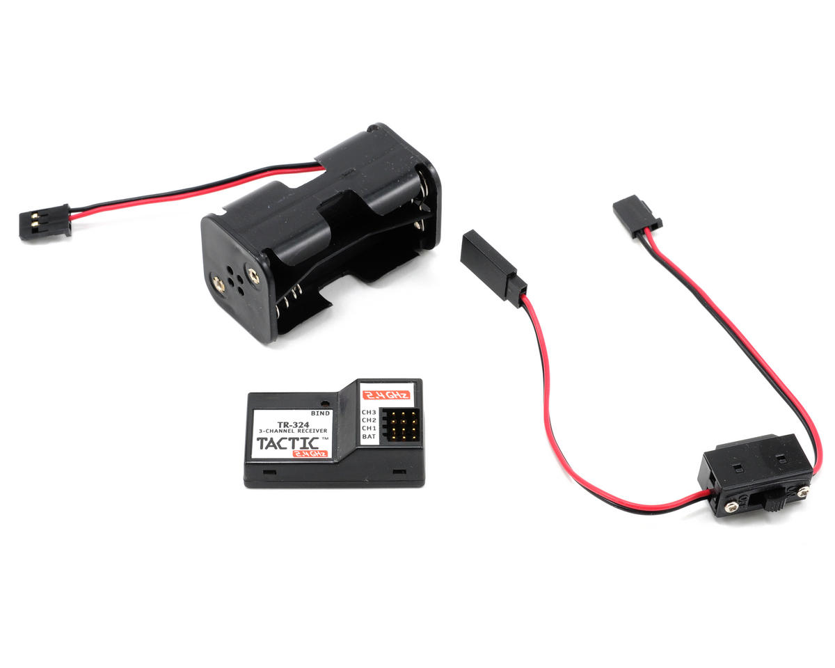 Tactic TTX240 2.4GHz 2-Channel Radio System (No Servos)