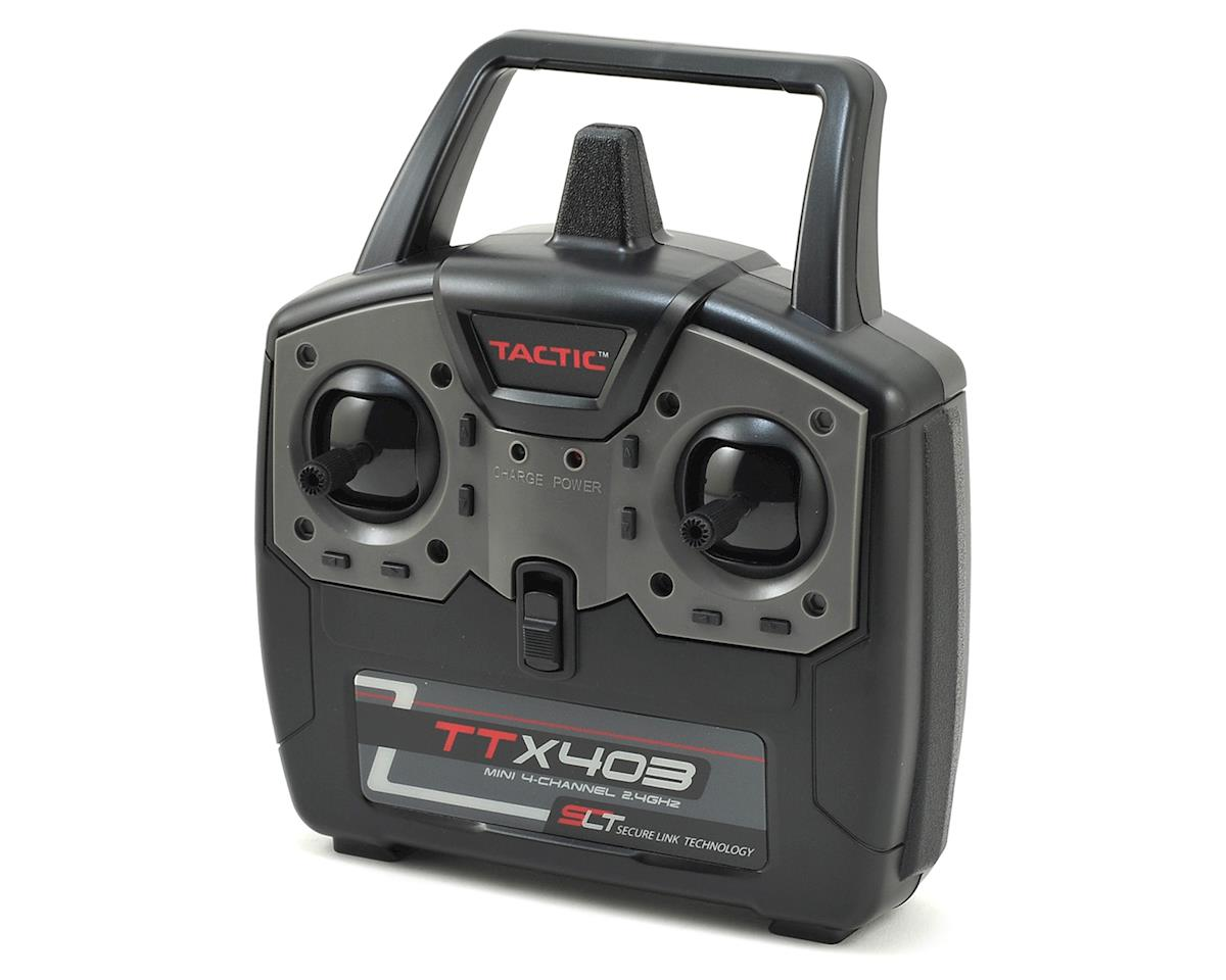 Tactic TTX403 4-Channel 2.4Ghz SLT Mini Aircraft Transmitter (Transmitter Only)