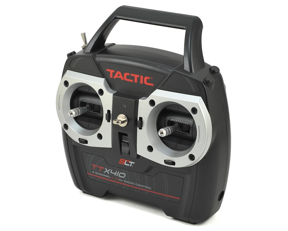 TTX410 4-Channel 2.4GHz SLT Transmitter w/TR625 Receiver by Tactic