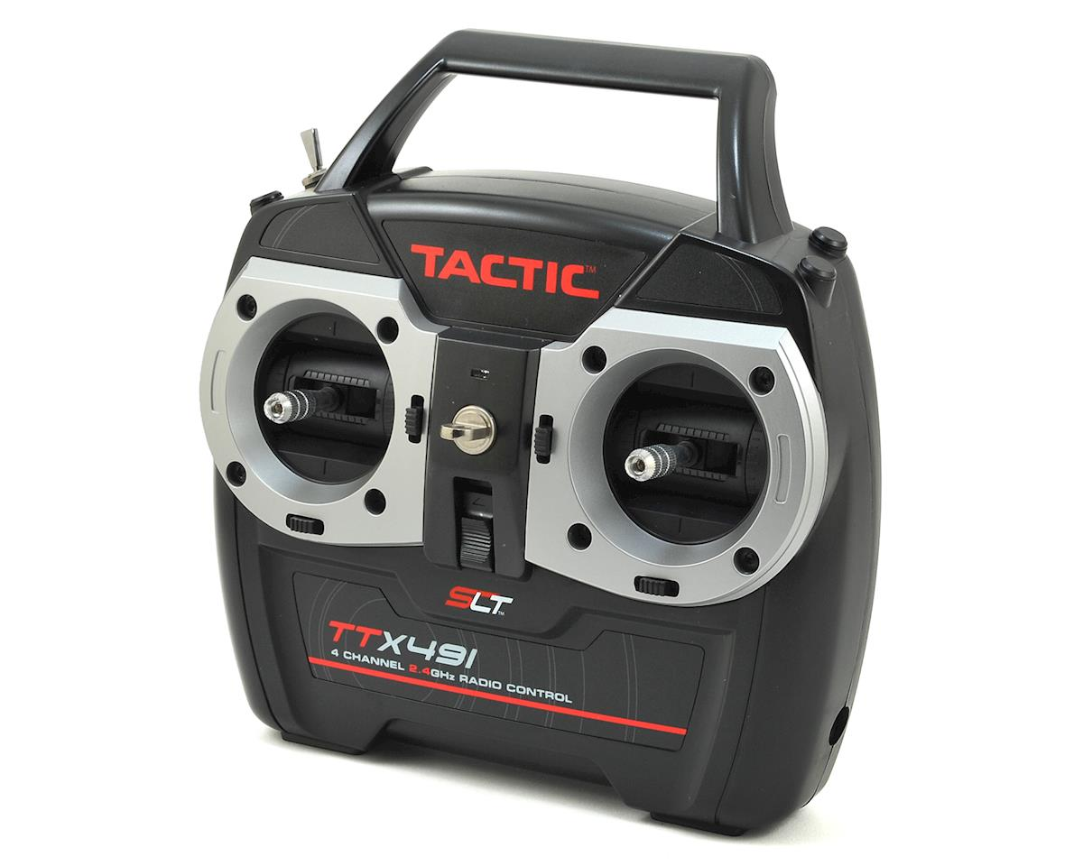 TTX491 4-Channel 2.4GHz SLT Surface Transmitter (Transmitter Only) by Tactic