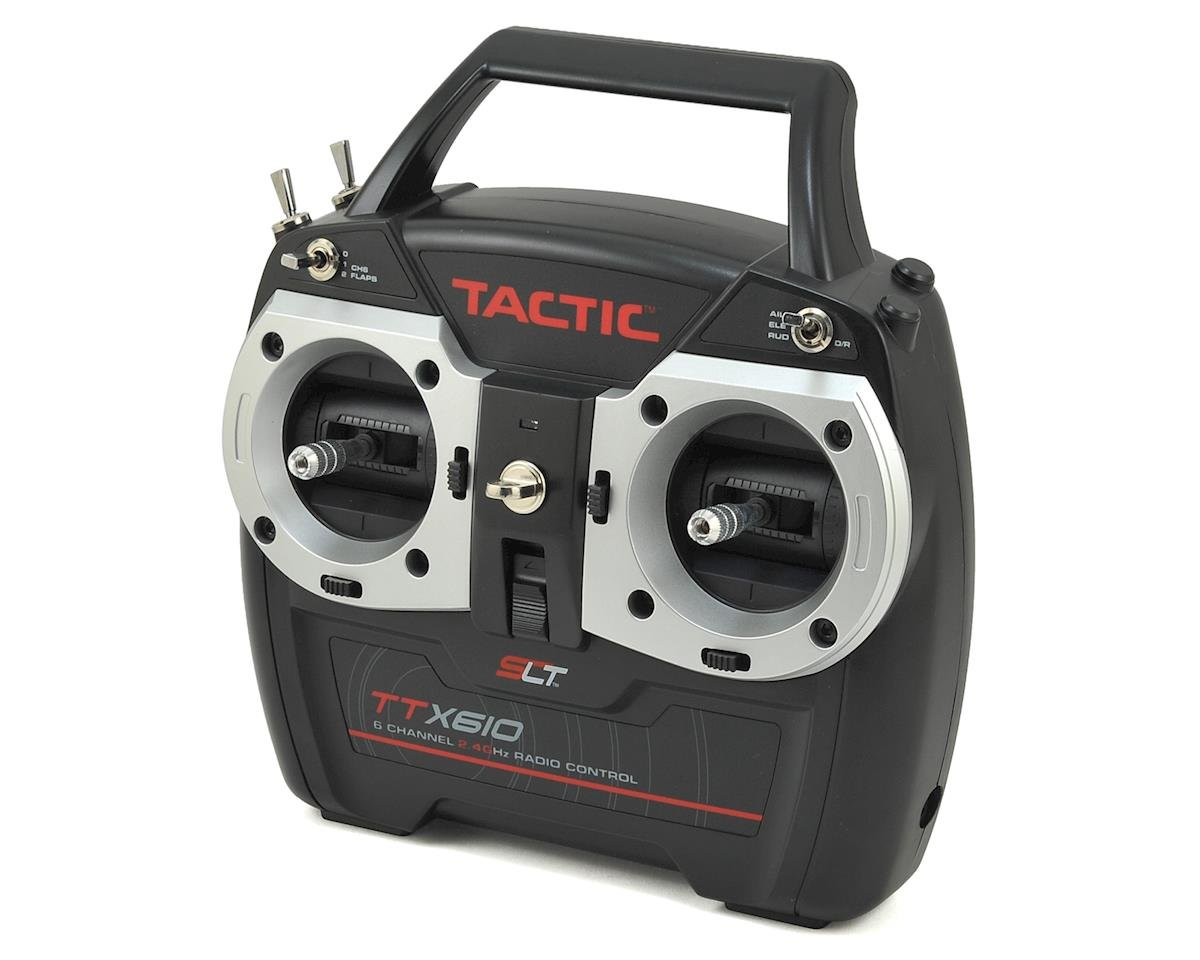 TTX610 6-Channel 2.4GHz SLT Transmitter w/TR625
