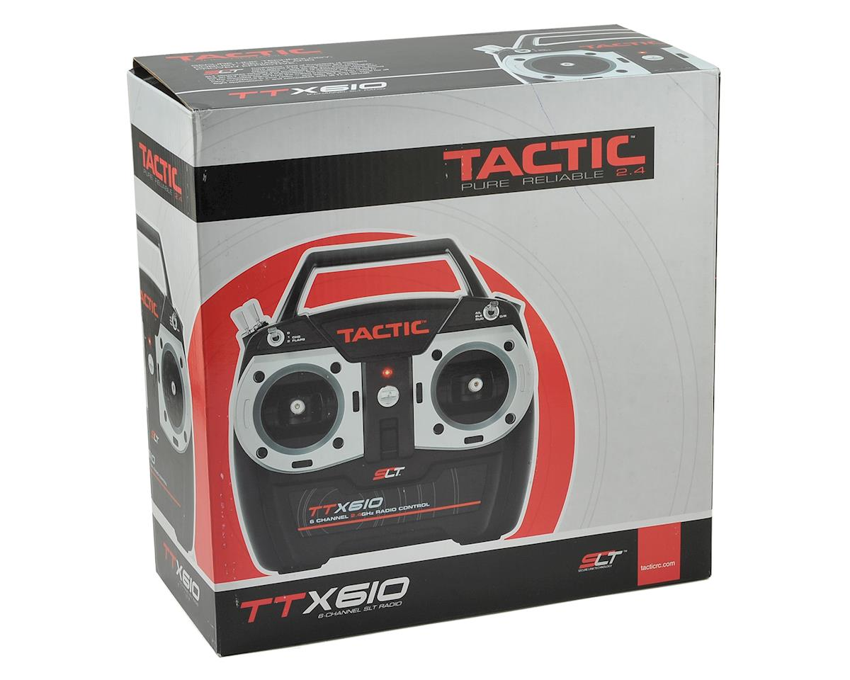 Tactic TTX610 6-Channel 2.4GHz SLT Transmitter w/TR625