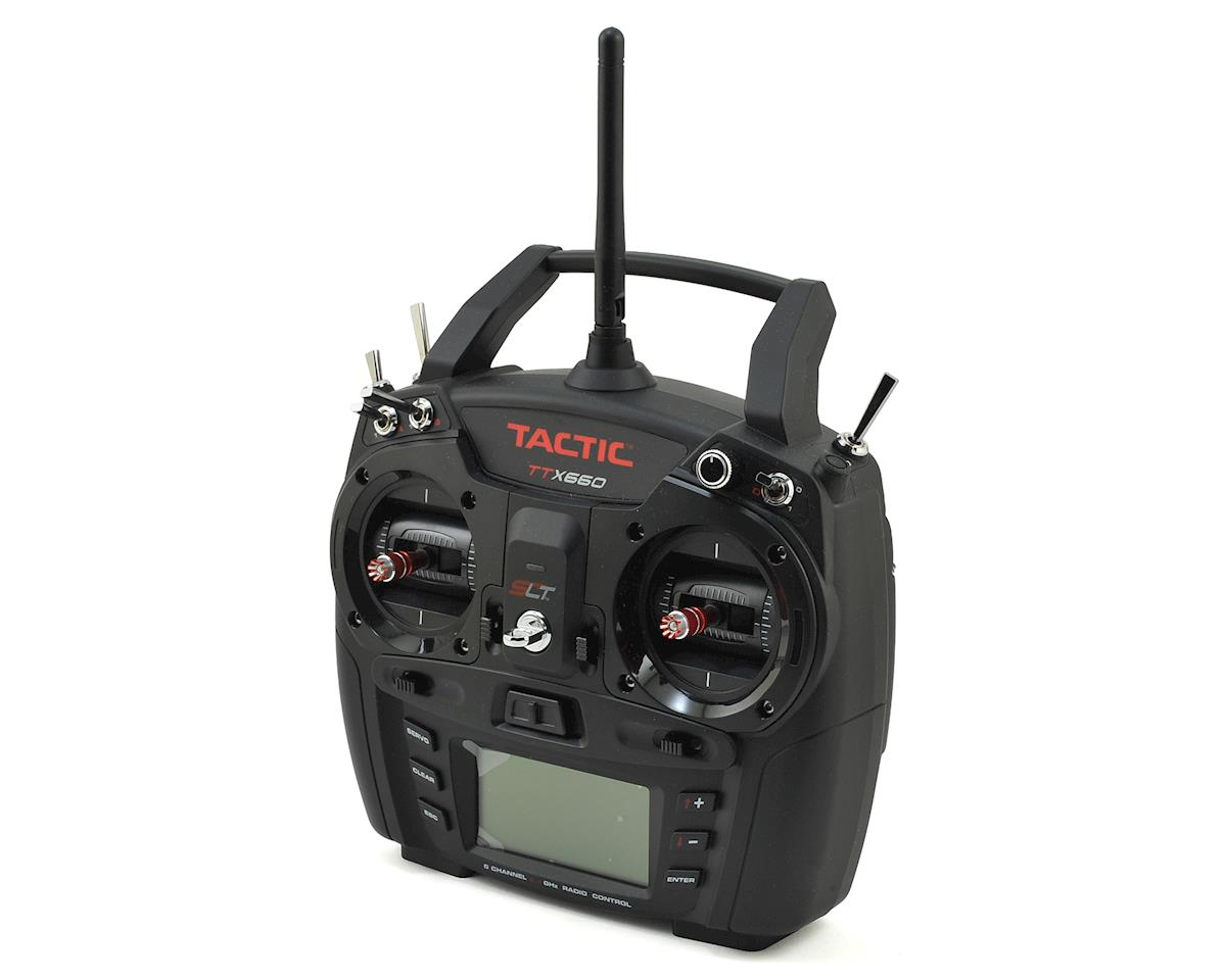 TTX660 6-Channel 2.4GHZ Computer Radio System (Transmitter Only) by Tactic